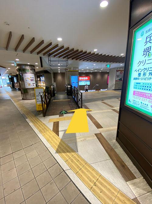 堺東駅から巻き爪サロンLibreまでの道のり 2