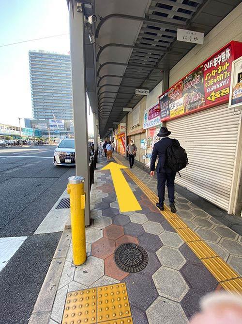 堺東駅から巻き爪サロンLibreまでの道のり 5